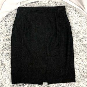 EXPRESS design studio grey pencil skirt size 2